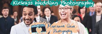 boho weddings, fun banner