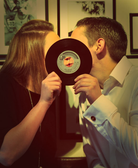 Real Weddings: A love of Vinyl