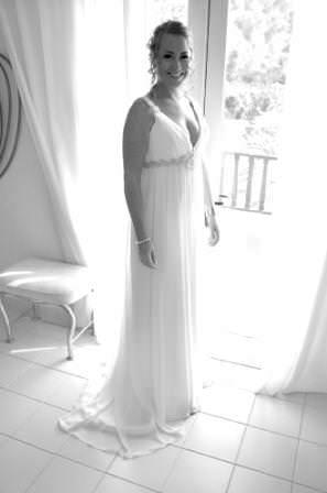 Today I Trash my wedding dress