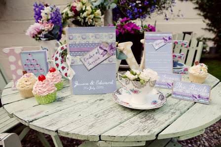 alternative wedding statinary