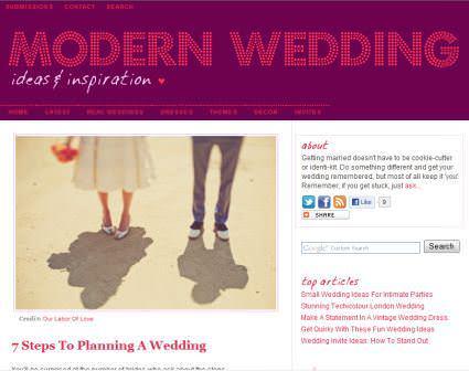 Boho writing for: Modern Wedding ideas - 7 Steps to planning a wedding.