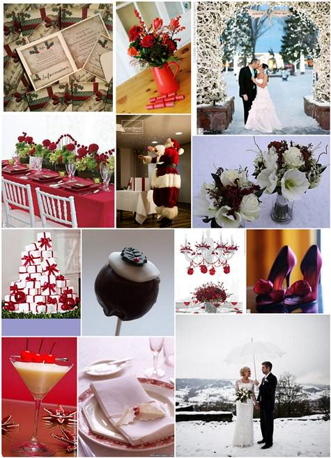 Christmas Wedding Inspiration Board Boho Weddings For