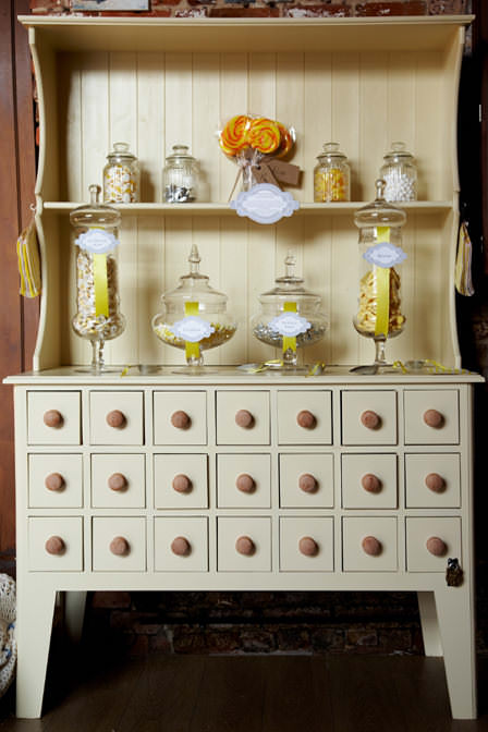 one sweet day: candy buffet