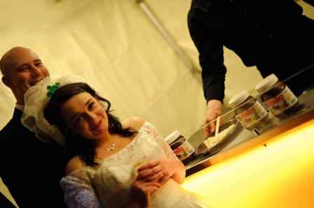 wedding crepe
