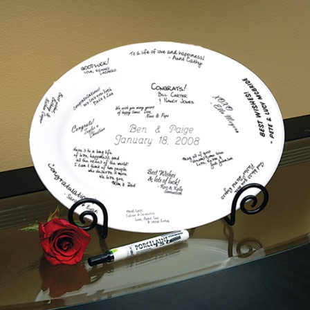 Alternative guest book ideas