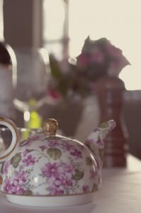 vintage tea party wedding