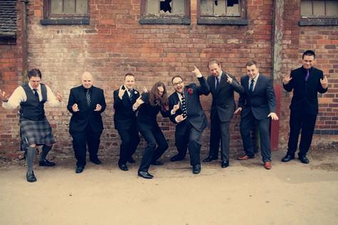 polka dot wedding
