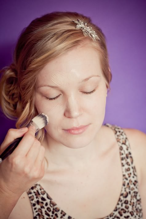 Schools out: How to do bridal make-up - Week 1 'Base'