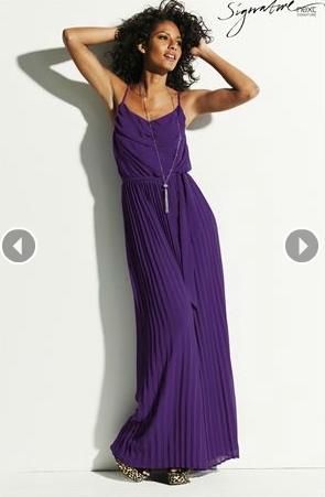 Next purple maxi dress
