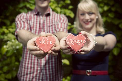 Edinburgh engagement shoot