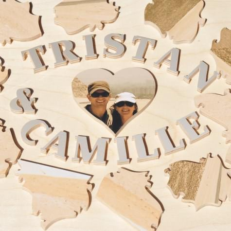 jigsaw puzzle guest book