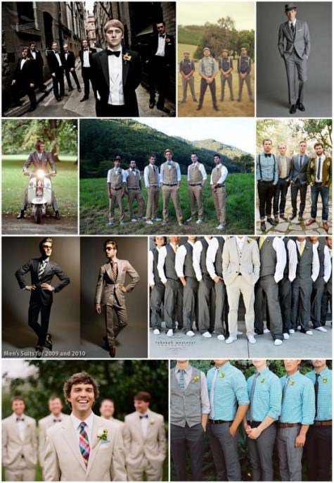 Grooms outfits