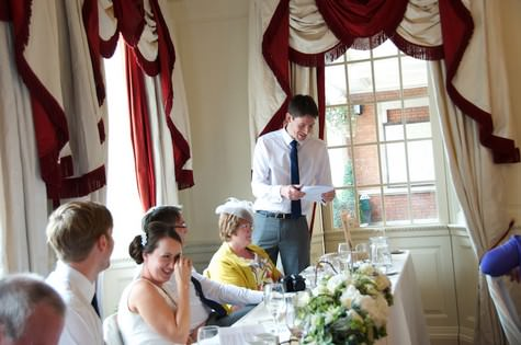 Eaves Hall, Clitheroe wedding