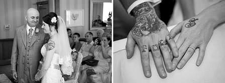 tattoo wedding