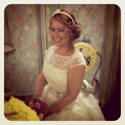 Designer vinatge bridal show