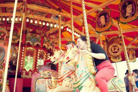 steam fair pre wedding shoot