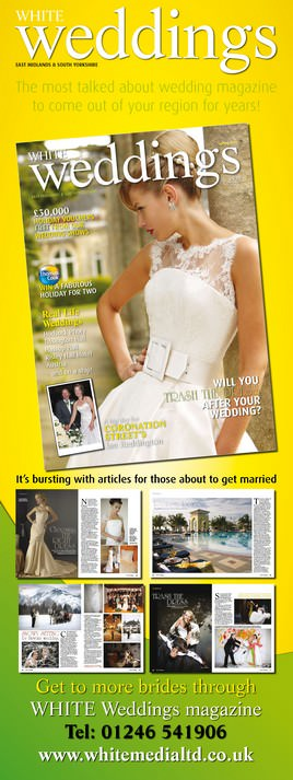 white weddings magazine