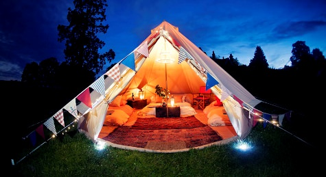 Wedding planning hen party advice top 5 glamping for Top 5 wedding destinations
