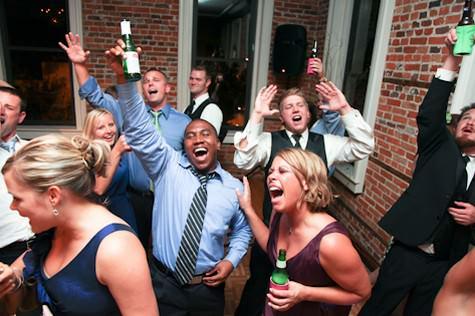 bright north carolina wedding