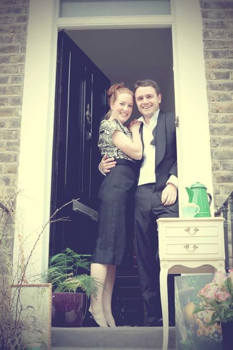 1940s pre wedding shoot