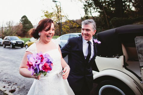 Laura and Jamie's Modern Winter Wedding at the Millennium Gallery