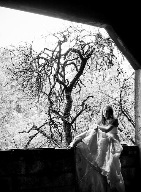 Gothic Trash the Dress