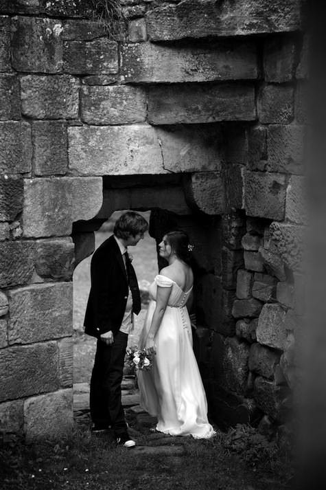 DIY Castle Wedding