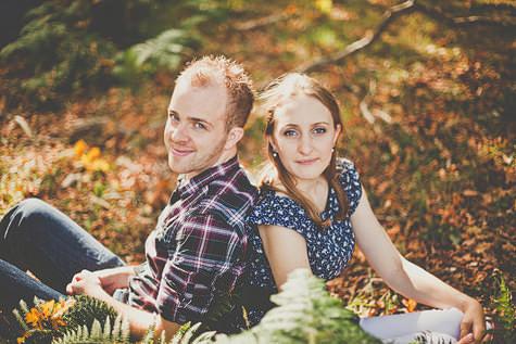 forest pre wedding shoot