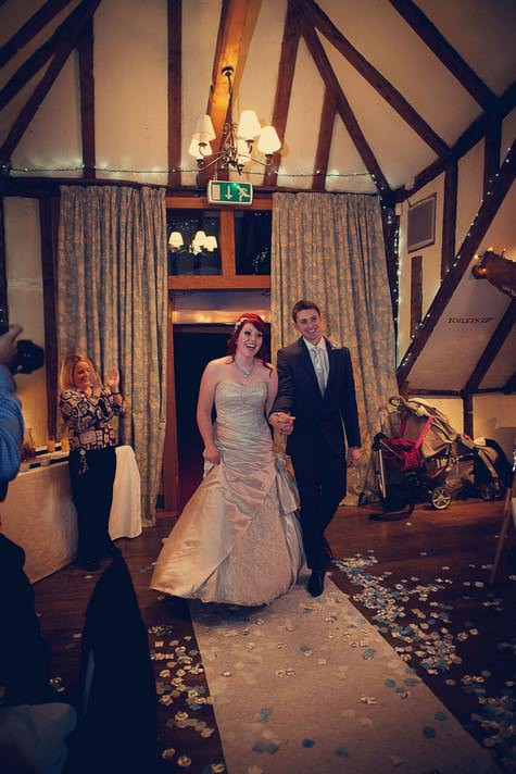 Kate and Tony's Detailed, Down-To-Earth, DIY New Years Eve Wedding