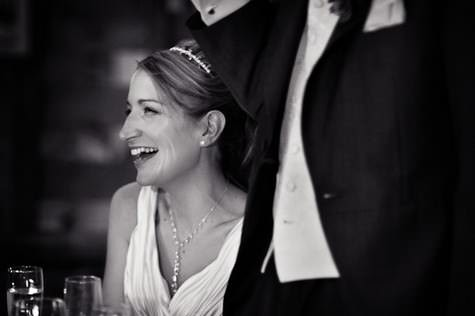 Kathryn and Luke's informal countryside barn wedding