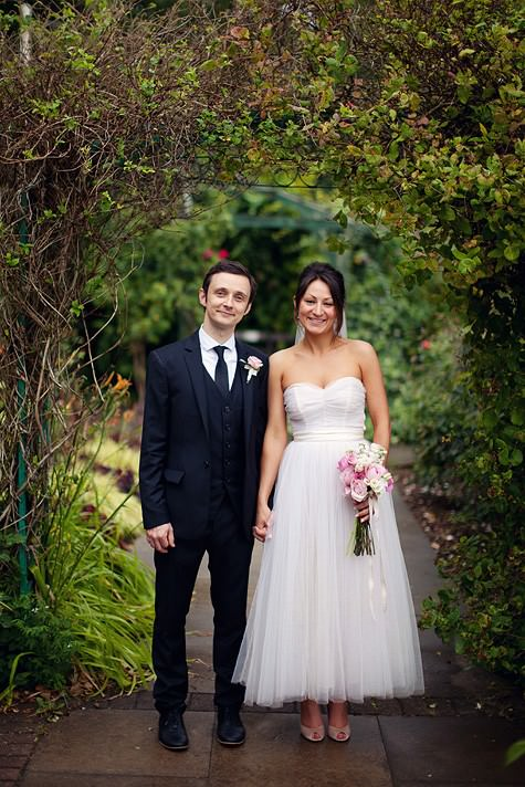 Boho Planned Weddings: Maddy and Chris and Their Beautiful Garden Wedding