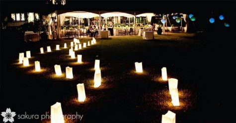 Lighting Ideas for an Outdoor Wedding  Boho Weddings For the Boho