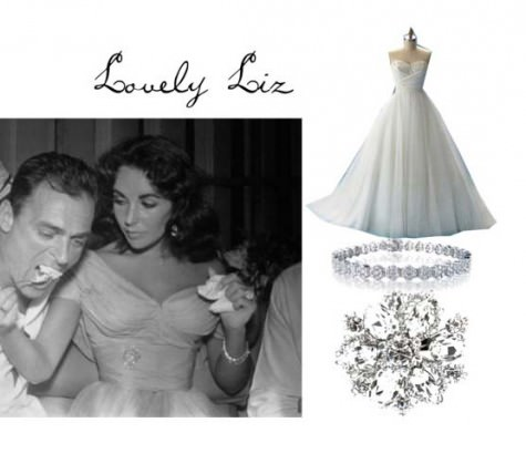 50s bridal styling