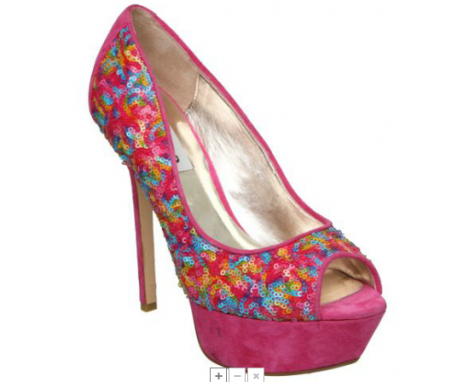 Bold and Bright wedding shoes