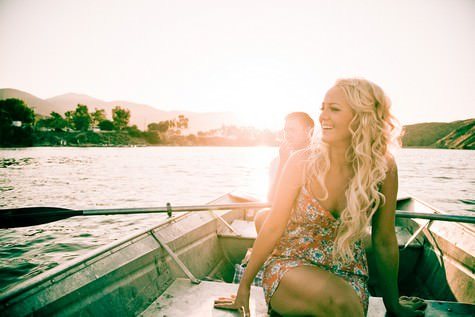 boat engagement shoot