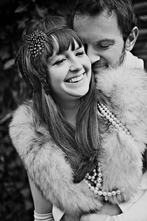 1920s engagement shoot