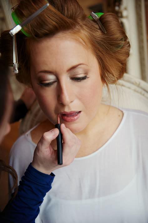 make up lesson - lips