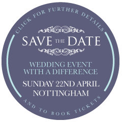 save the date - wedding event with a difference