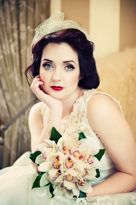 Lace, Pearls and Diamonds - 1950s Glamour Styled Shoot ...
