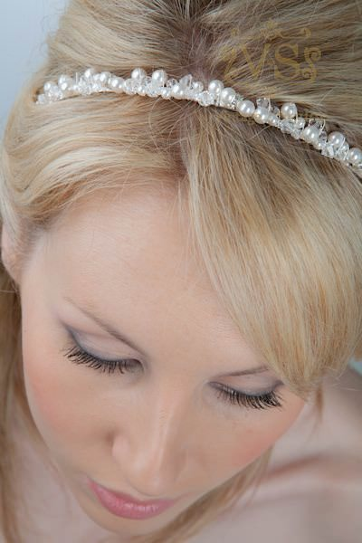 Understated hair accessories