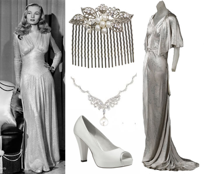 Bridal Style Going Vintage 40 39 S Inspired Styling That