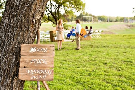 Country Texan Wedding