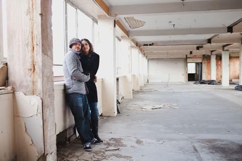 Urban pre wedding shoot