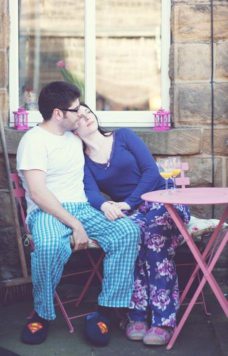 Pyjama Pre Wedding Shoot