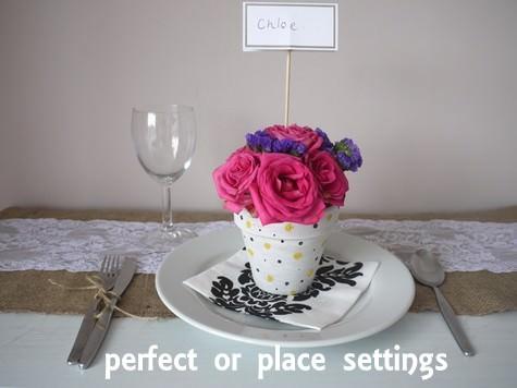DIY wedding favour