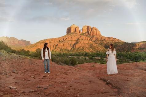 Hippy styled shoot