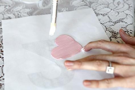DIY Glitter Cake Toppers