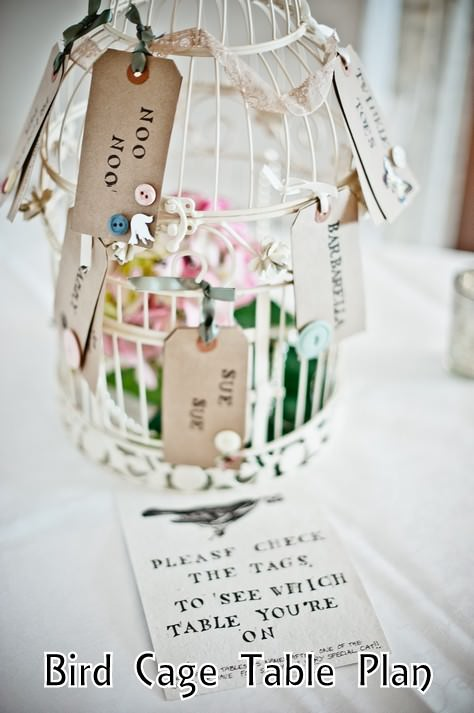 bird cage table plan