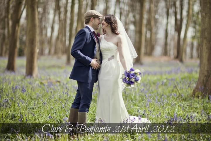 natural rustic Welsh wedding