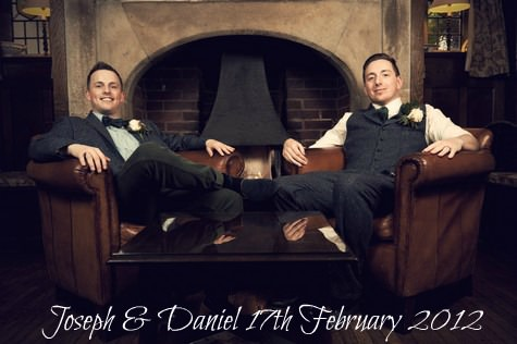 Vintage themed Civil Partnership